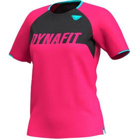 Dynafit Ride Kurzarm T-Shirt Damen pink/schwarz
